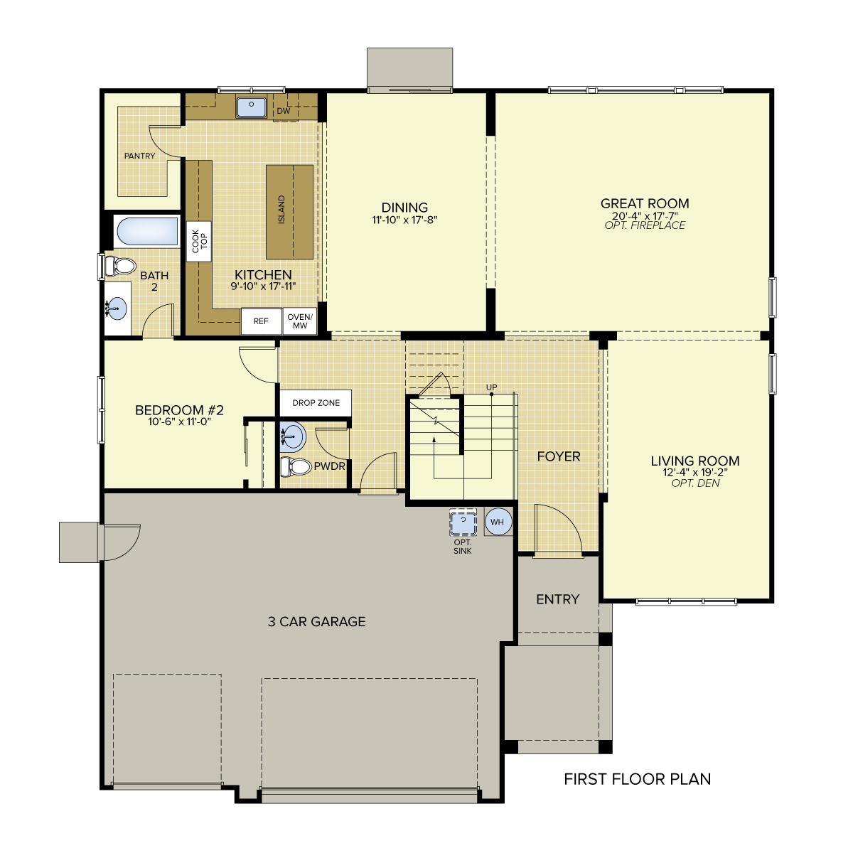 Legacy landing new homes in the pocket for Legacy homes floor plans