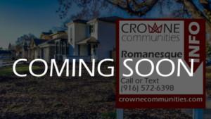 Romanesque - new homes in Natomas