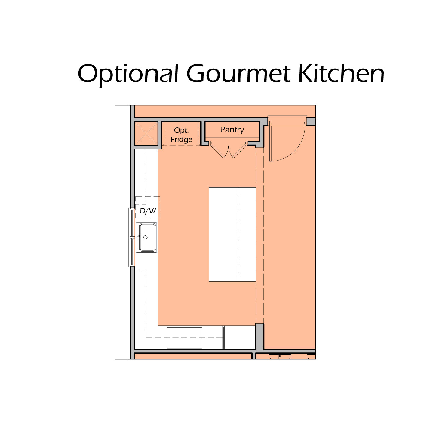 Heartland Plan A2 - Gourmet Kitchen Option