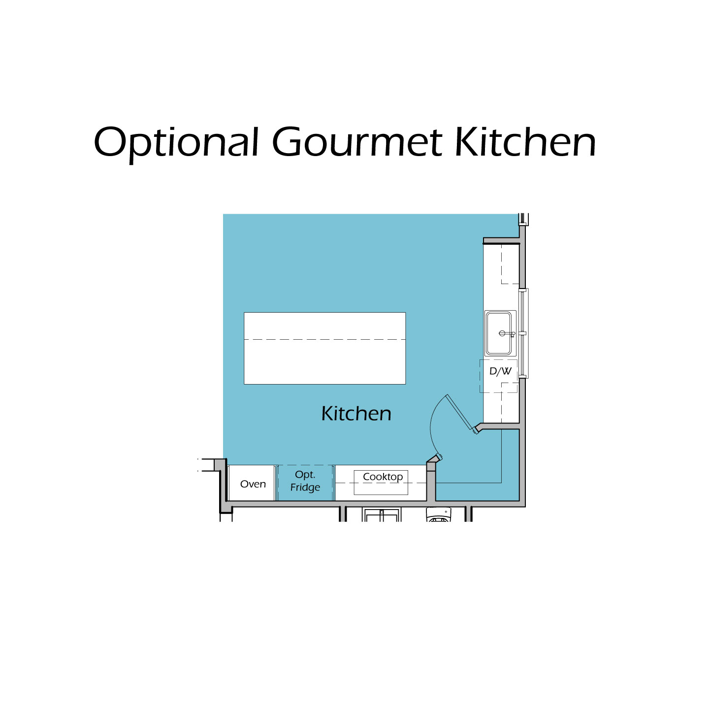 Heartland Plan T3 Gourmet Kitchen Option
