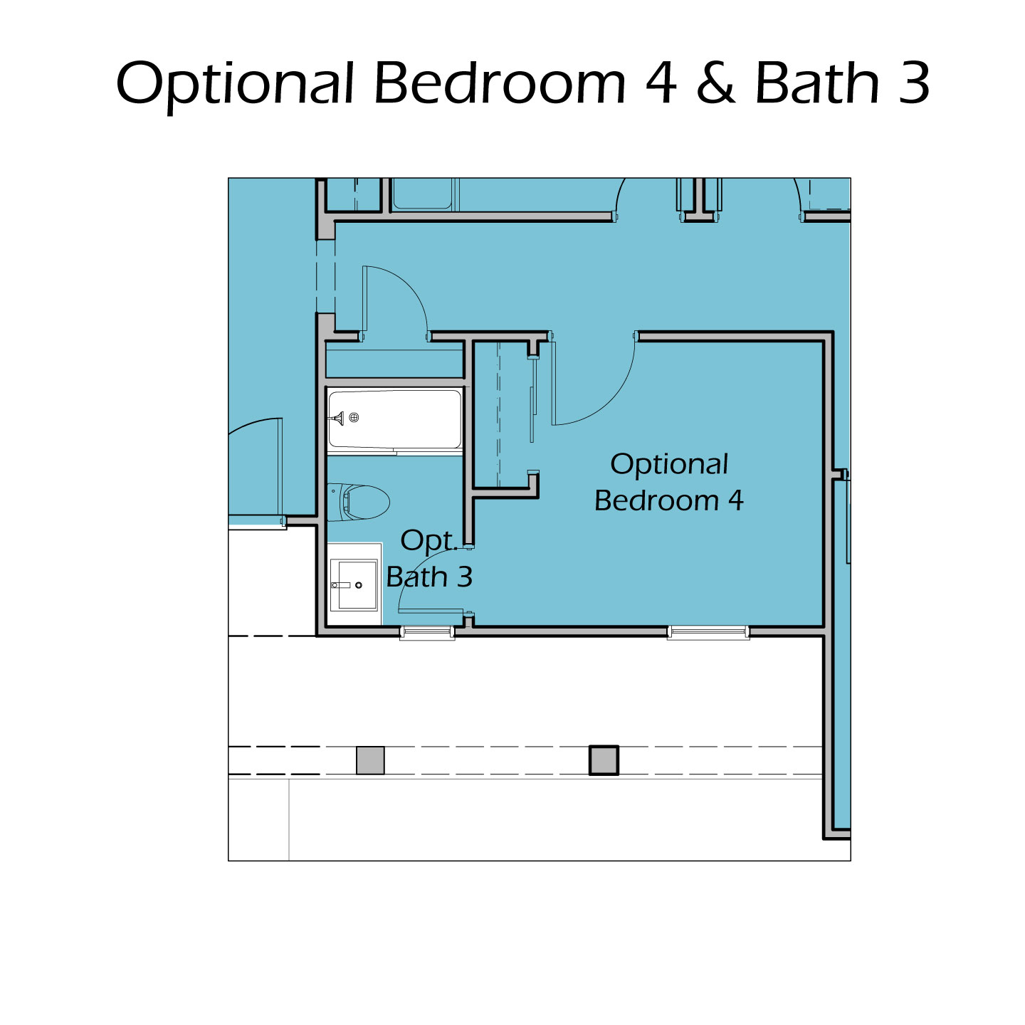Heartland Plan TC1 Optional Bedroom 4