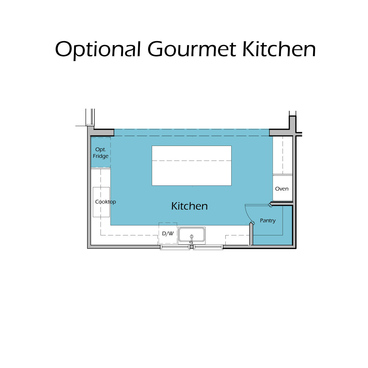 Heartland Plan TC1 Gourmet Kitchen Option