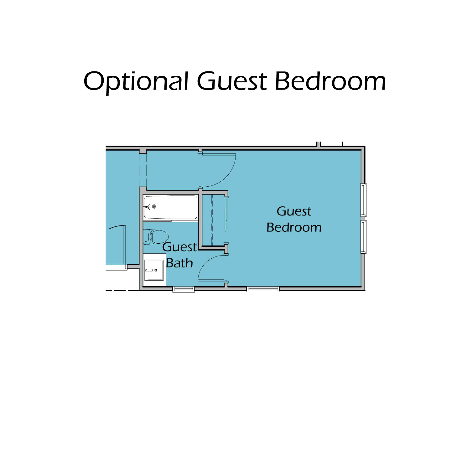 Heartland Plan TC2 Guest Bedroom Option