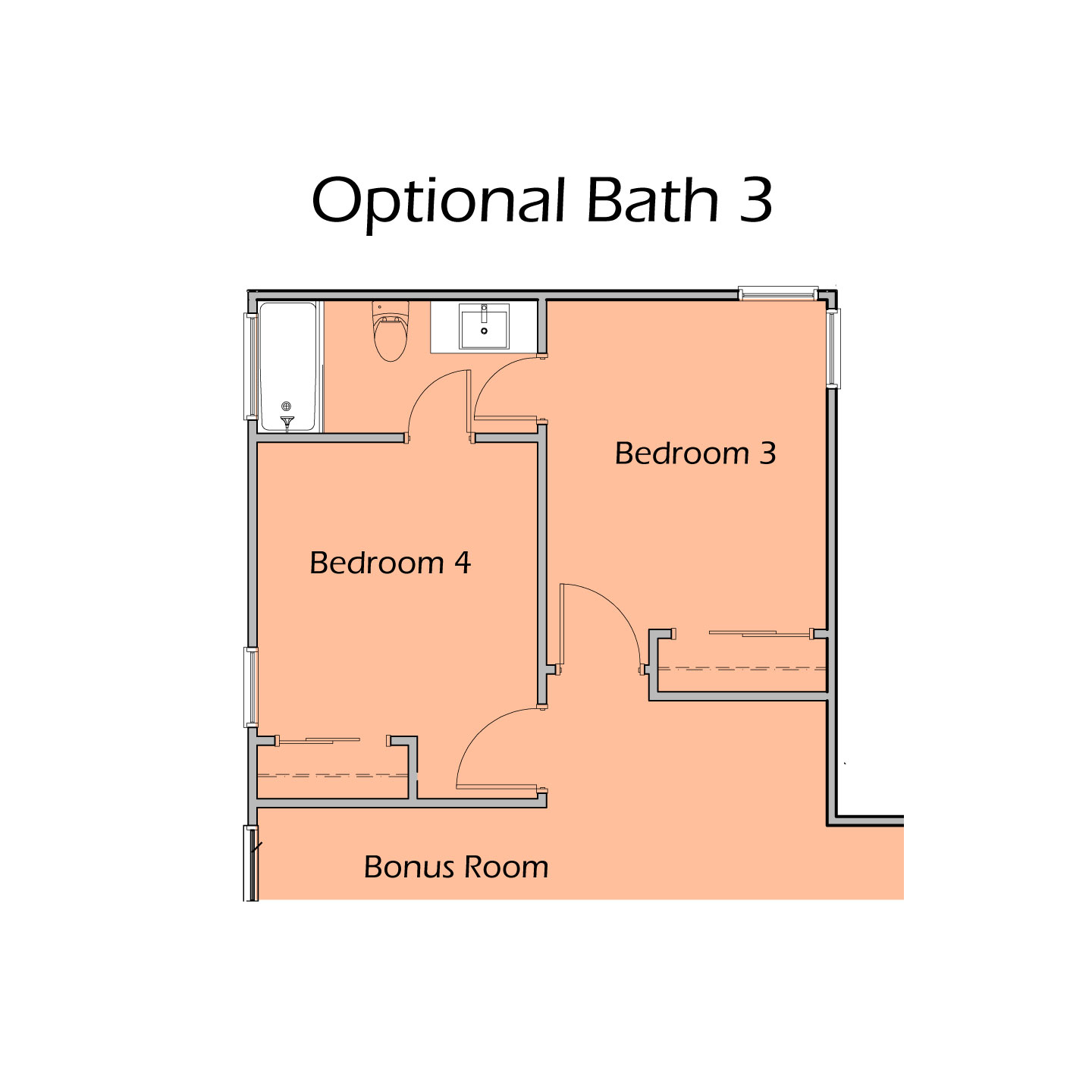 Heartland Optional Bath 3